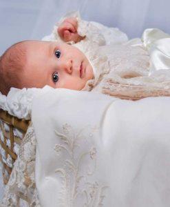 Faldón de bautizo Elegance